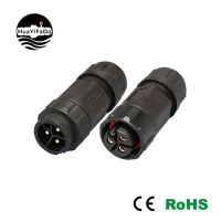 IP68 进口大电流公母插头防水接头厂家华亿发280A-3P/三芯LED插头