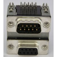 db9pin车针插头 优质db9pin车针插头/插座 DR9S 9P铆合.jpg