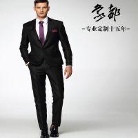 供应西服 男士西服套装 韩版黑色西装 山西西服 男西装 象都品牌