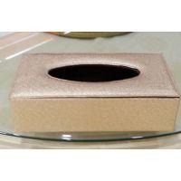 欧式豪华大堂抽纸盒 金色奢华纸巾盒 酒店宾馆KTV高档纸盒