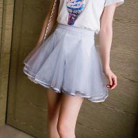 夏装新款魔衣宝贝女装批发高腰网纱半身裙蓬蓬裙短裙厂家直销ZZ