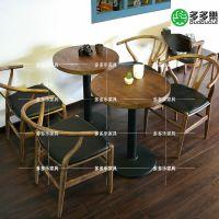 loft工业风餐桌椅 复古工业风餐椅子 现代复古时尚餐厅家具定做