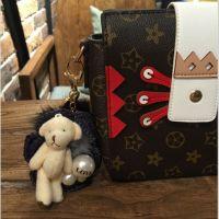 时尚可爱毛绒钥匙扣布偶挂件包包钥匙挂件