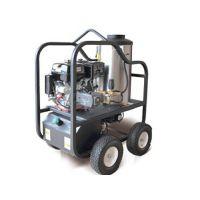 柴油驱动 锅炉加热 350公斤 热水高压清洗机
