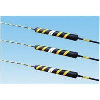 北京鸿煜伟业供应鸿煜牌水泥杆黑黄拉线护管PVC拉线保护管