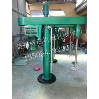 莱州格瑞化工机械供应GFJ7.5KW乳胶漆分散机,涂料乳胶漆搅拌分散机