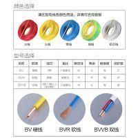 齐鲁电缆电线电缆ZRBV2.5平方国标阻燃单芯纯铜硬线 照明插座线