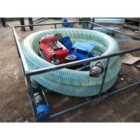 维修方便车载吸粮机 小型软管螺旋吸粮机 润众