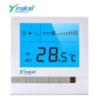 郢凯YK-PG-7A中央空调温控器风机盘管温控器液晶开关面析