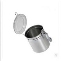 厂家直销 不锈钢密封罐四件套 家居厨房用品 储物罐 奶粉糖果罐