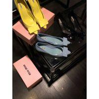 2015年春夏新款立体牛漆皮蝴蝶花糖果色真皮女细高跟鞋单鞋代发货