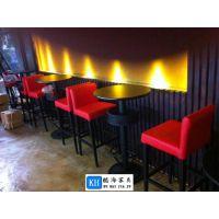 供应酷海家具香港订购KH-C090简约现代吧台吧椅广州厂家定制