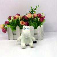 可爱儿童毛绒玩具动物河马造型来图定制