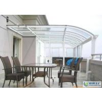 上海耐力板遮阳逢厂家|奉贤地下车库耐力板雨棚安装