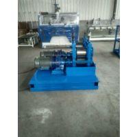 河北沧县旭航机械厂定做钢丝压扁机。
