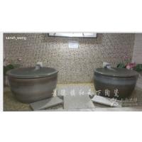 温泉浴缸 陶瓷洗浴大缸 上海极乐汤洗浴大缸景德镇和天下生产厂家