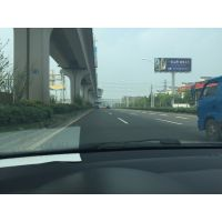 南京江北大道快速路沿线广告牌