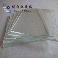 3mm厚度86标准开关面板玻璃白片库存 超白玻璃光片