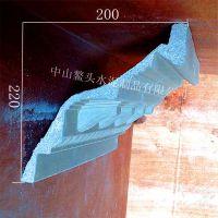 专业生产水泥线条 欧式GRC线条 双面 顶角线条 阳角线 阴角线 踢脚线 产地/广东中山