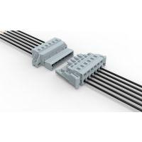 PCB弹簧式接线端子 防震插拔式弹簧端子排 LSC1 LSC10 5.08间距