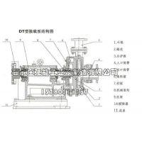 脱硫泵蜗壳 25DT-A25 强能工业泵 化工脱硫泵