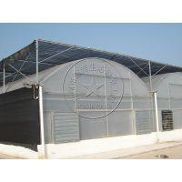 拱形圆顶薄膜温室大棚连栋智能温室—瀚洋现代农业大棚建设