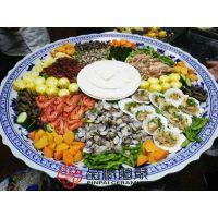 景德镇品派手工装菜大盘定做饭店餐饮专用装菜大盘生产的厂家