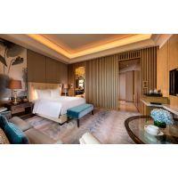 酒店软装设计之窗帘定制51A设计机构棉、麻窗幔帘定制
