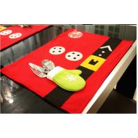 泰柯圣诞节装饰用品家居酒店餐厅布置餐桌垫餐桌布刀叉套创意圣诞产品装饰品
