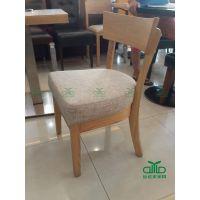 深圳厂家定做实木餐桌椅 香港餐厅定做的水曲柳椅子 简约时尚