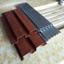 陵水长城板装饰生产厂家专业订做铝合金背景墙凹凸板木纹长城板天花吊顶