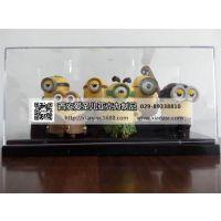 陕西地区亚克力动漫玩偶模型展示盒加工的厂家