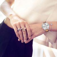 艾尔时女士陶瓷镶钻手表学生情侣表礼品促销表代工厂可OEM定制