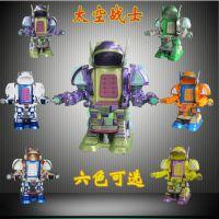 外观炫酷太空战士机器人/广场机器人/双人碰碰车战火金刚乐吧车热销全国
