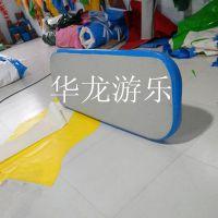 超强拉丝充气气垫床 水上充气床 水上浮排 充气垫 河南华龙厂家直销