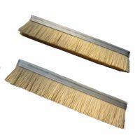 厂家供应木工机械制品剑麻丝砂纸刷辊  剑麻抛光条刷欢迎来电定制