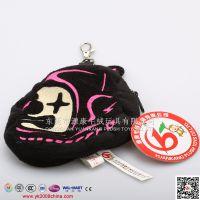 毛绒猴小包包挂件 毛绒手机包包 毛绒零钱包开发设计定做