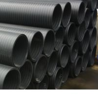 供应广西省HDPE中空双壁缠绕管 PE给水管