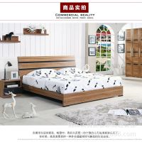 板式床双人床 时尚简约储物床板式家具卧室家具厂家批发爆款包邮