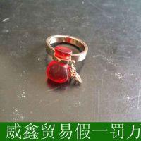 韩国代购 韩国饰品葫芦形戒指原装正品特价代购