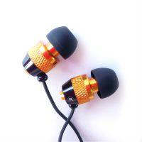 耳机厂家供应入耳式金属耳机 带麦克风线控通话手机耳机 通用MP3电脑耳机批发