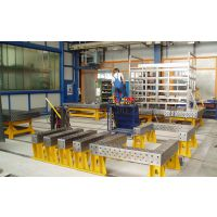 中德焊邦长期供应柔性工装应用/工装平板厂家标准件/焊接专机