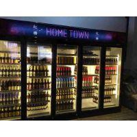 定做啤酒冰箱 黑色啤酒柜 酒吧KTV啤酒冷藏柜 雅绅宝厂家