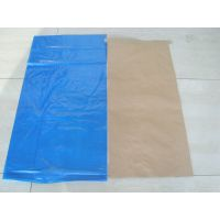 厂家定做25kg食品级牛皮纸袋、食品包装证/食品商检证纸塑复合袋