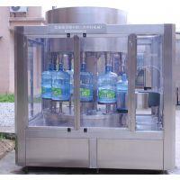 600桶/时 桶装水生产线 冲洗、灌装、封盖一体机桶装水灌装机
