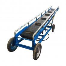 矿用加厚皮带机 钢丝芯耐磨输送机订购 砂石运输方便省人力