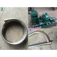 直径159*5mm厚工业厂房支架弯管机 正谷专业弯管设备销售