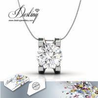 戴思妮采用施华洛世奇元素水晶项链吊坠 欧美风格女式小饰品批发