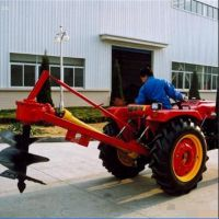 风冷单杠两冲程挖坑机 桃苗杏苗移植栽树机 果园施肥挖坑机 圣通
