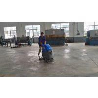 诸城机械工厂用艾隆AL50B手推式洗地机